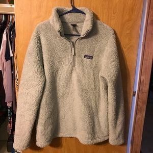 Women's Grey Patagonia soft pullover. XL
